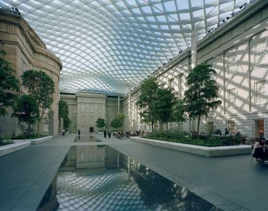 Glass Grid Canopies
