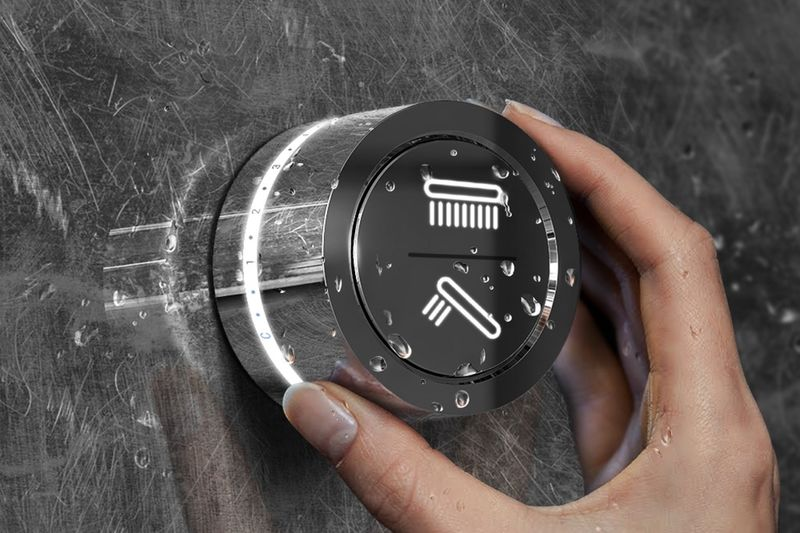 Intuitive Bathroom Faucet Controllers