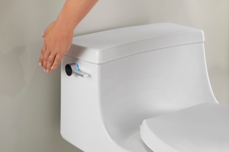 Hygienic Touchless Toilets
