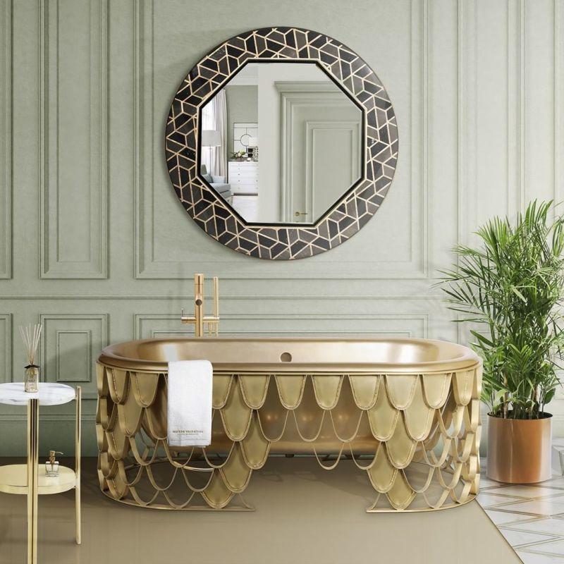 Opulent Aquatic Creature Bathtubs