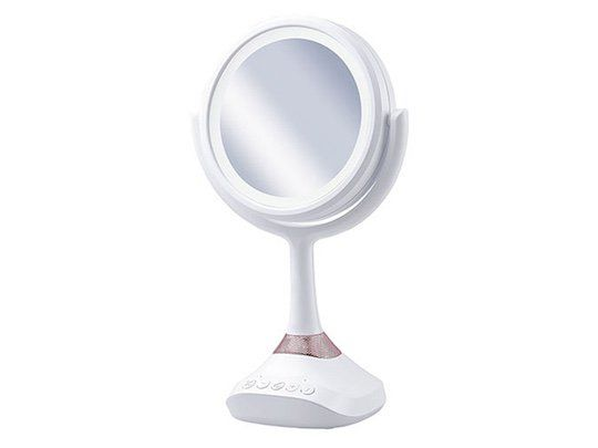Bluetooth-Enabled Makeup Mirrors