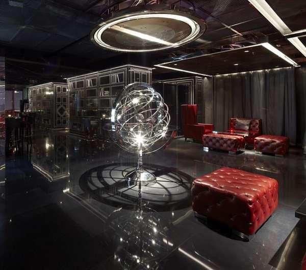 Illusionary Sky Lounges Kokaistudios Yu Bar