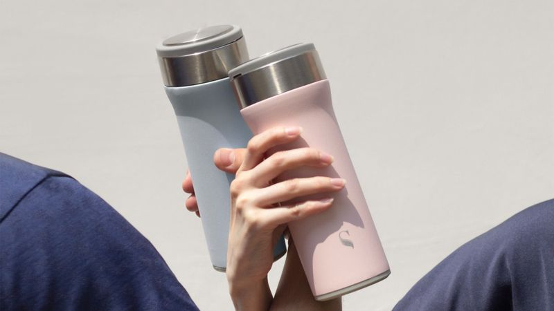 Solid Porcelain Drink Containers