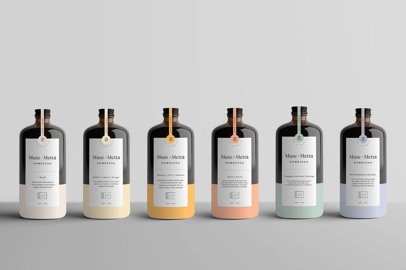 Inspiring Kombucha Bottles