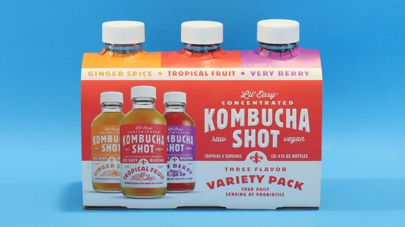 Small-Scale Kombucha Shots