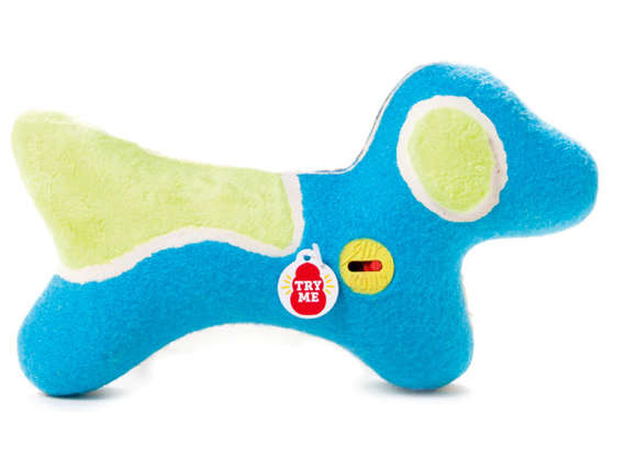 Squeak Adjusting Pooch Toys