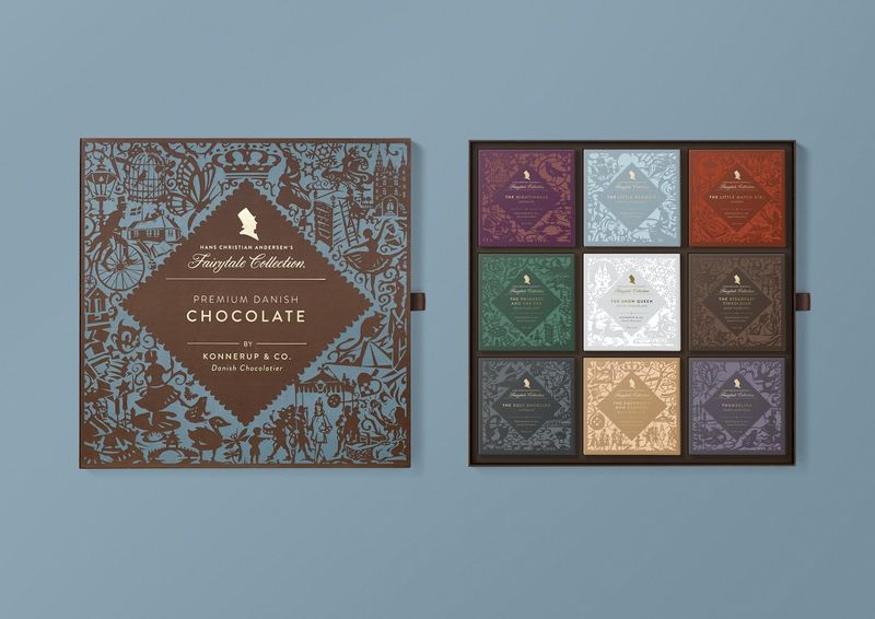 Fairy Tale-Themed Chocolates