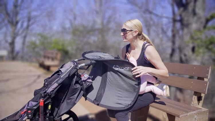 Parental Privacy Stroller Screens