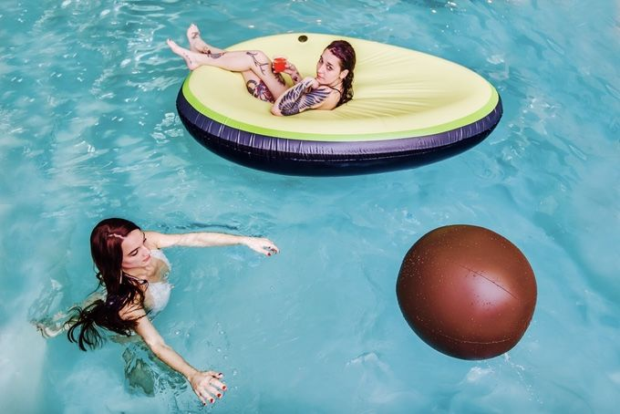 Millennial-Themed Pool Floats