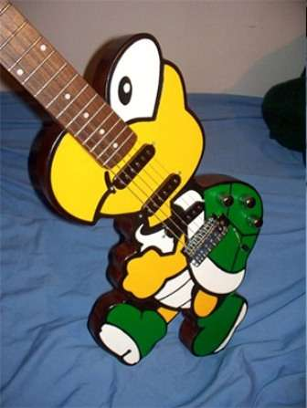 Retro Gamer Guitars