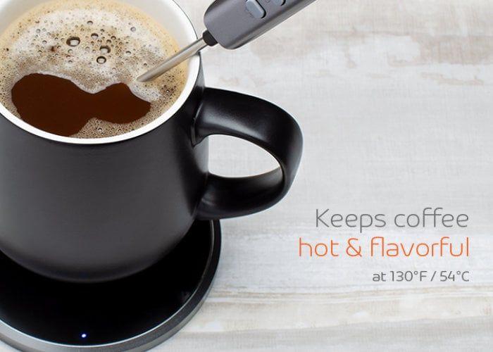 Wireless Self-Warming Mugs