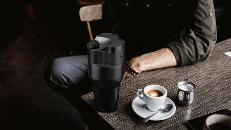 Single-Serve Coffee-Brewing Mugs