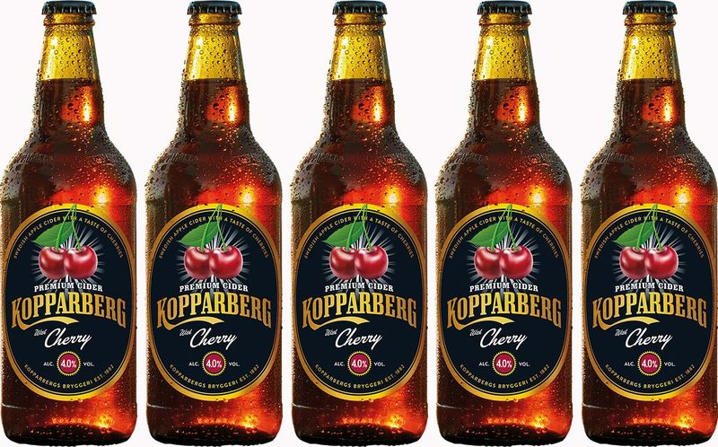 Fruity Cherry-Flavored Ciders