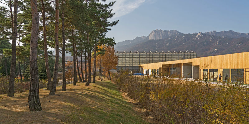 Bunker-Style Korean Community Centers