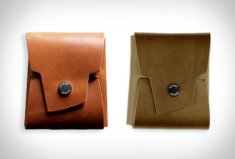 Origami-Inspired Wallet Accessories