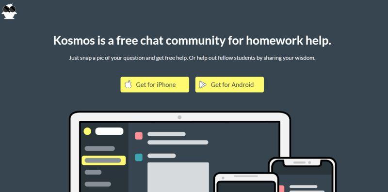 Communal Homework Help Apps