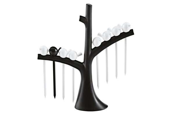 Perched Bird Toothpicks