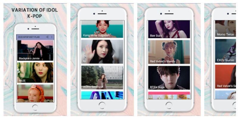 K-Pop-Inspired Diet Apps