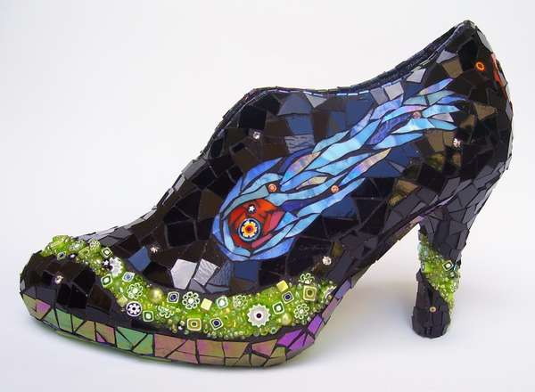 Stained Glass Shoes