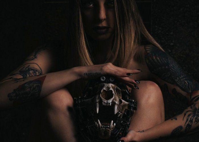 Handcrafted Cyberpunk Skull Speakers