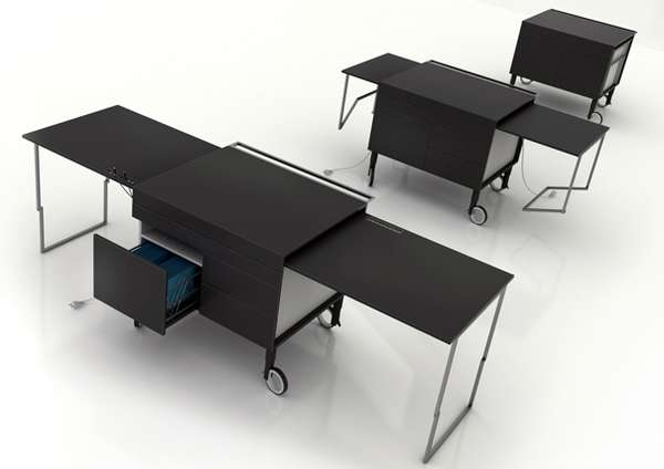 Extendable Work Desks