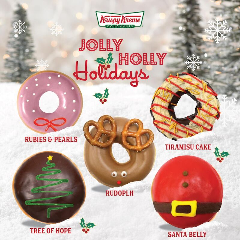 Limited-Edition Festive Donuts