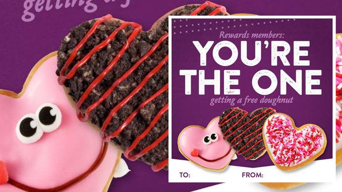 Complimentary Reward Member Doughnuts