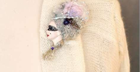 Beheaded Victorian Brooches