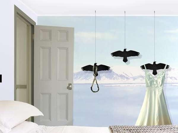 Floating Raven Hooks