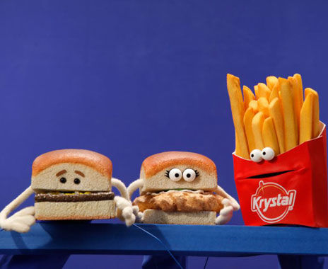 Fast Food Puppets
