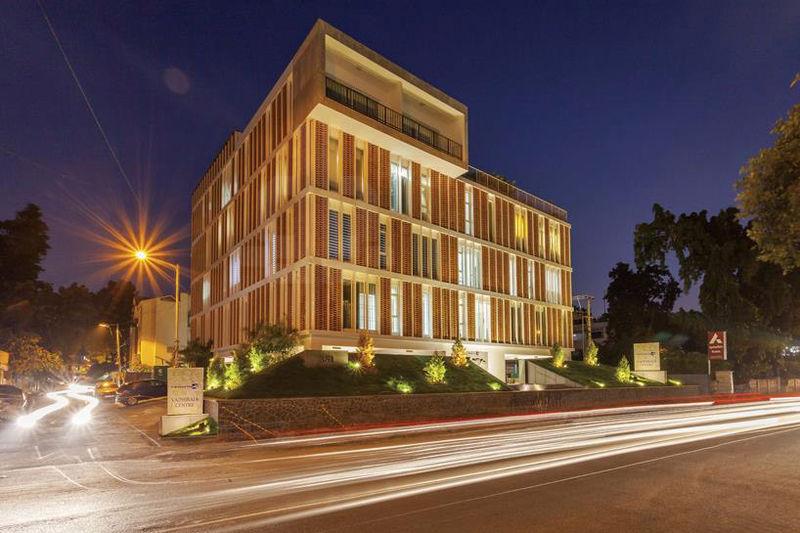 Latticed Brick Architecture