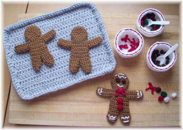 Knitted Holiday Treats Ktbdesigns Gingerbread Man Patterns Let You