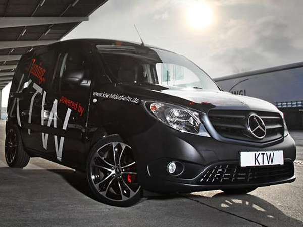 Mercedes Benz Rims >> Tricked-Out Cargo Vans : KTW Mercedes-Benz Citan