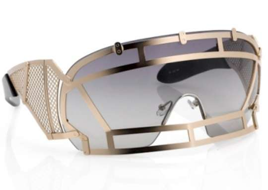 3f330229ecd Sci-Fi Face Guards   KTZ Linda Farrow Sunglasses