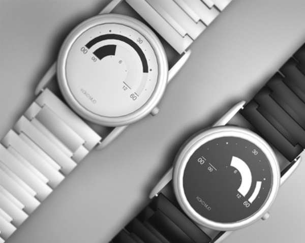Futuristic Analog Watches