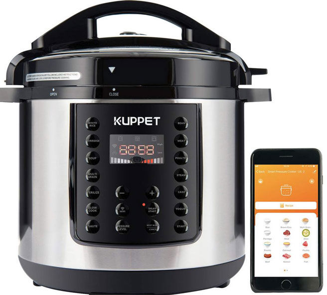 Intuitively Connected Cookers