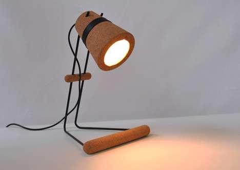 Cork Task Lamps