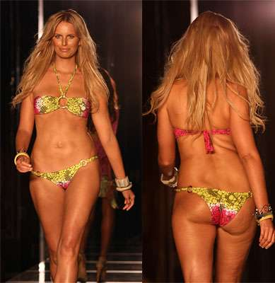 Bikini pictures of supermodels and shame!