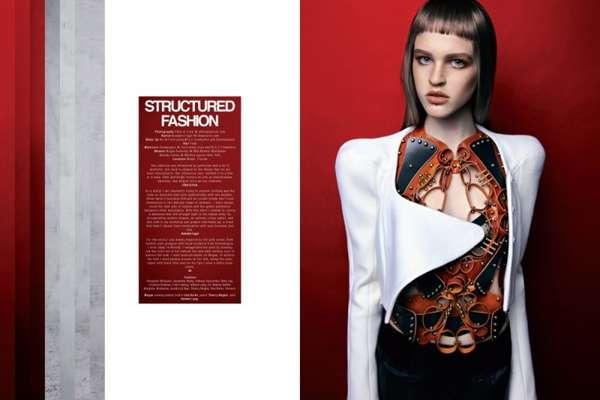 Futuristic Femme Fatale Fashion