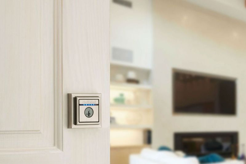 Stylish Touch-to-Open Deadbolts