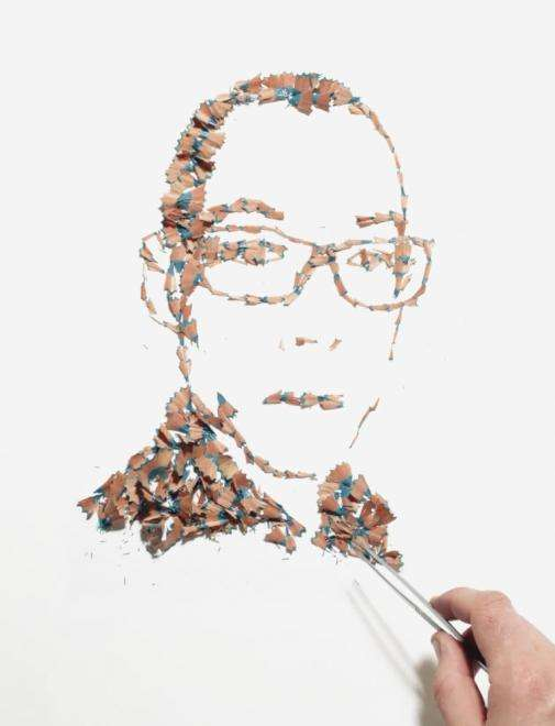 Pencil-Shaved Portraits
