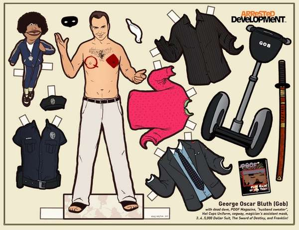 Paper TV Dolls (UPDATE)
