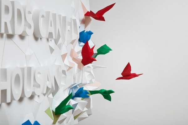 Hopeful Origami Typography