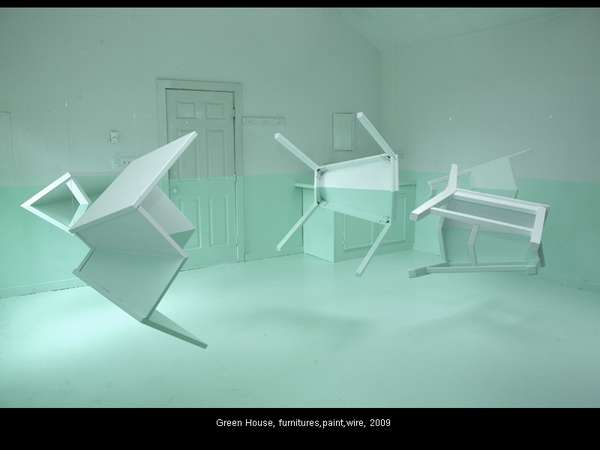 Gentil Floating Furniture Art