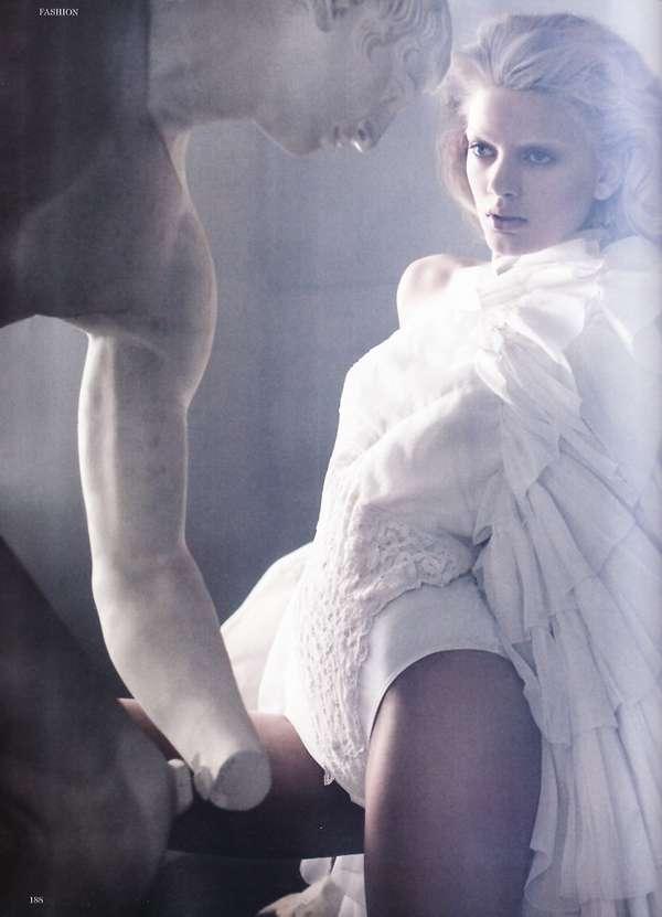 Bleached Statuesque Shoots
