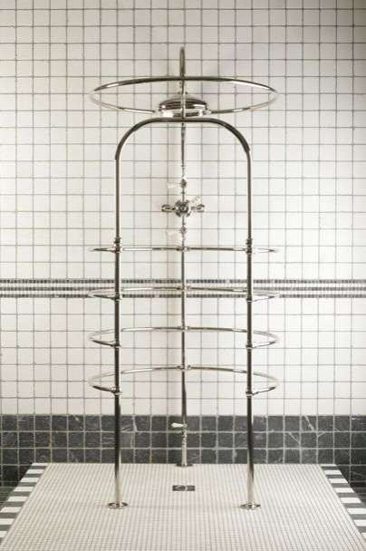 Revamped 19th-Century Showers