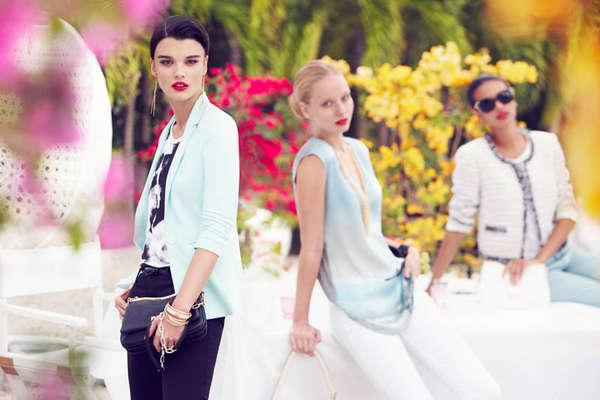 Garden Party Fashion Ads