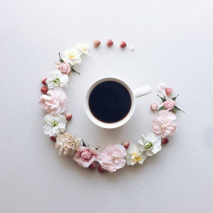Flowery Java Art Pieces