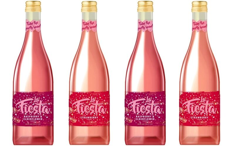 Fruity Semi-Sparkling Wine Drinks