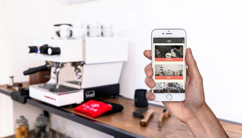 Connected Espresso Machine Apps
